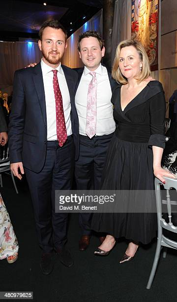 Francis Boulle Guest and Karina Cox attend Spectrum 2014 an annual fundraising event in support of the National Autistic Society to launch World...