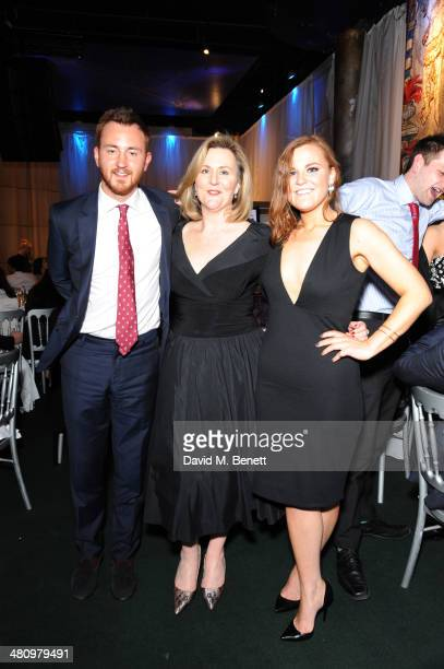 Francis Boulle Karina Cox and Lily Boulle attend Spectrum 2014 an annual fundraising event in support of the National Autistic Society to launch...