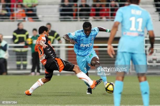 Francis COQUELIN / Ismaila TAIWO Lorient / Marseille 36eme journee de Ligue 1