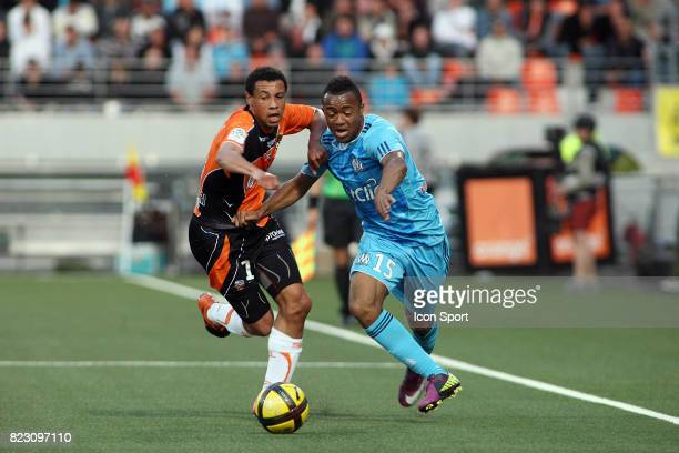 Francis COQUELIN / Jordan AYEW Lorient / Marseille 36eme journee de Ligue 1