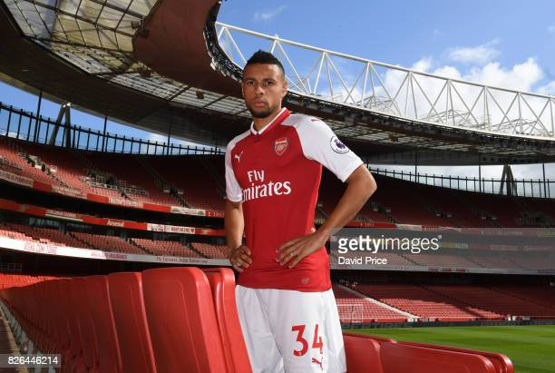Francis Coquelin of Arsenal during the Arsenal 1st team photocall at Emirates Stadium on August 3 2017 in London England