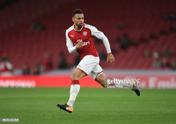 Francis Coquelin of Arsenal during the Premier League 2 match between Arsenal and Sunderland at Emirates Stadium on October 16 2017 in London England