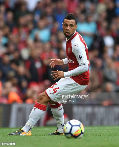 Francis Coquelin of Arsenal during the Premier League match between Arsenal and AFC Bournemouth at Emirates Stadium on September 9 2017 in London...