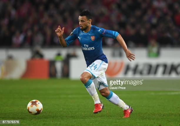 Francis Coquelin of Arsenal during the UEFA Europa League group H match between 1 FC Koeln and Arsenal FC at RheinEnergieStadion on November 23 2017...