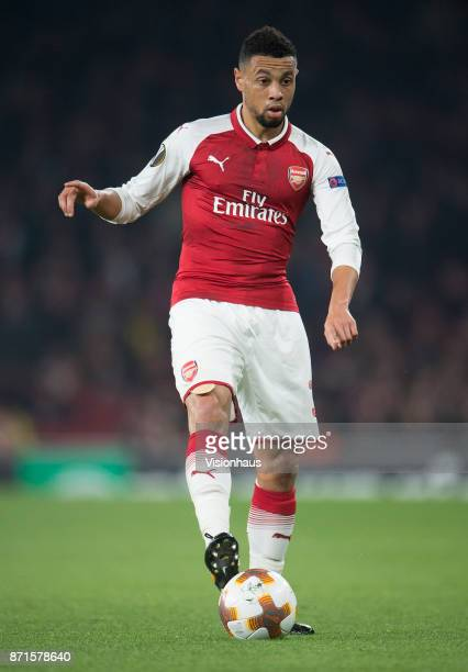 Francis Coquelin of Arsenal during the UEFA Europa League group H match between Arsenal FC and Crvena Zvezda at Emirates Stadium on November 2 2017...