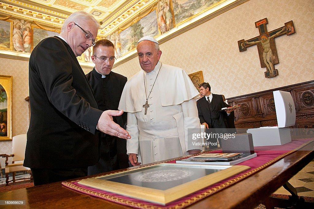 Pope Francis Meets President of Croatia Ivo Josipovic