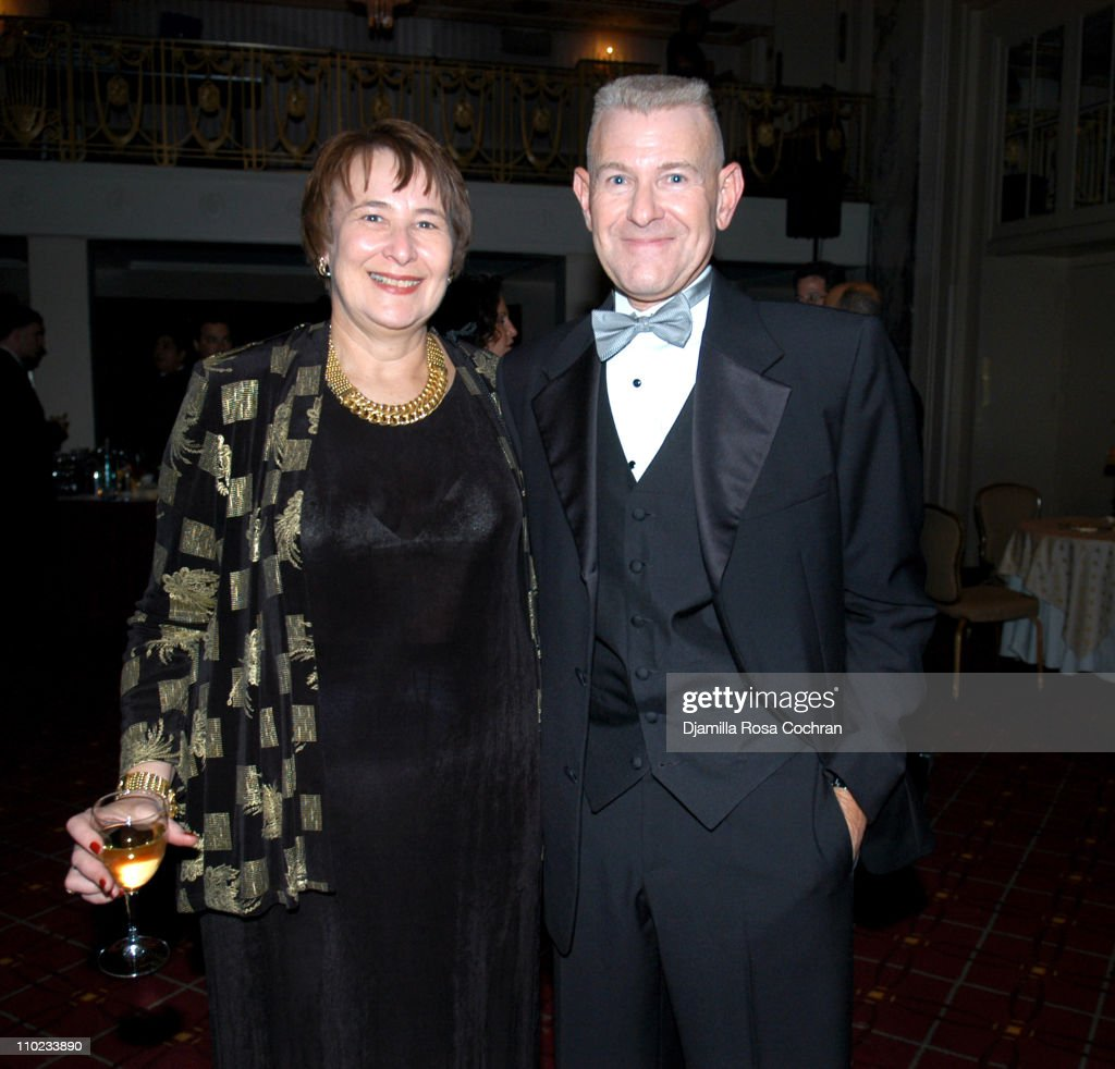 Francis Feiner And Edward During Interior Design Magazine Hall Of Fame At Waldorf Astoria Hotel