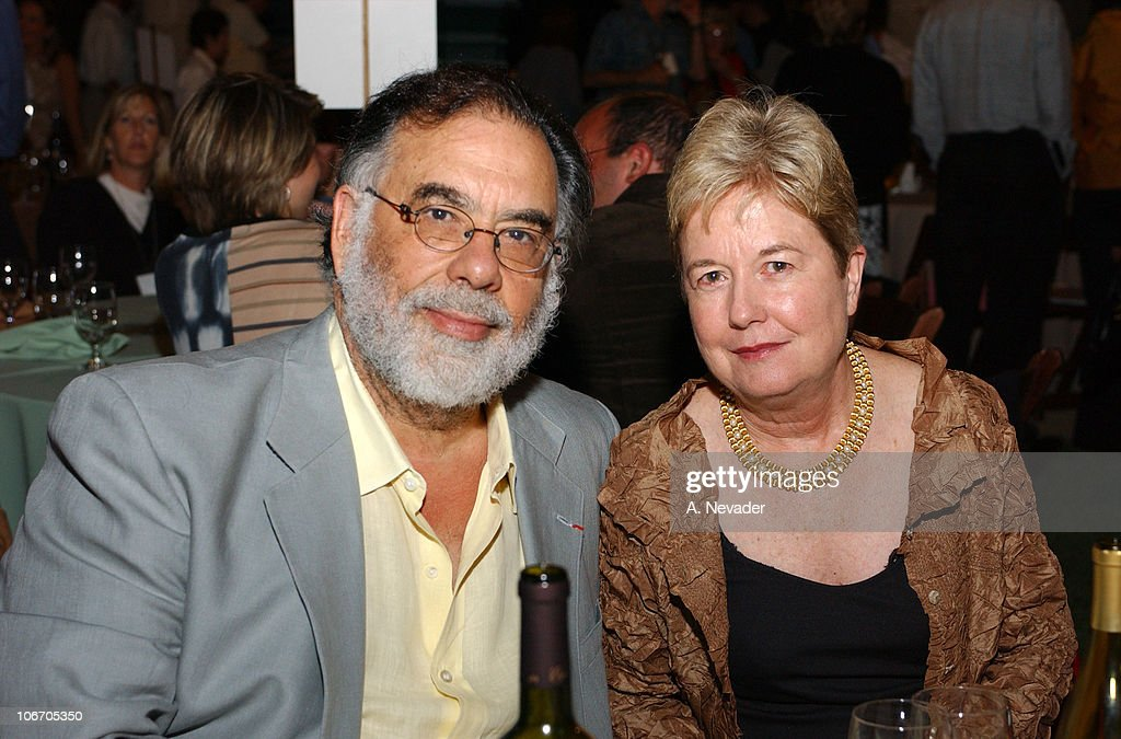 <a gi-track='captionPersonalityLinkClicked' href=/galleries/search?phrase=Francis+Ford+Coppola&family=editorial&specificpeople=204241 ng-click='$event.stopPropagation()'>Francis Ford Coppola</a> and wife Eleanor during <a gi-track='captionPersonalityLinkClicked' href=/galleries/search?phrase=Francis+Ford+Coppola&family=editorial&specificpeople=204241 ng-click='$event.stopPropagation()'>Francis Ford Coppola</a> Hosts 'Hands Across the Valley: Towards a Community Without Hunger' at Niebaum-Coppola Estate Winery in Rutherford, California, United States.