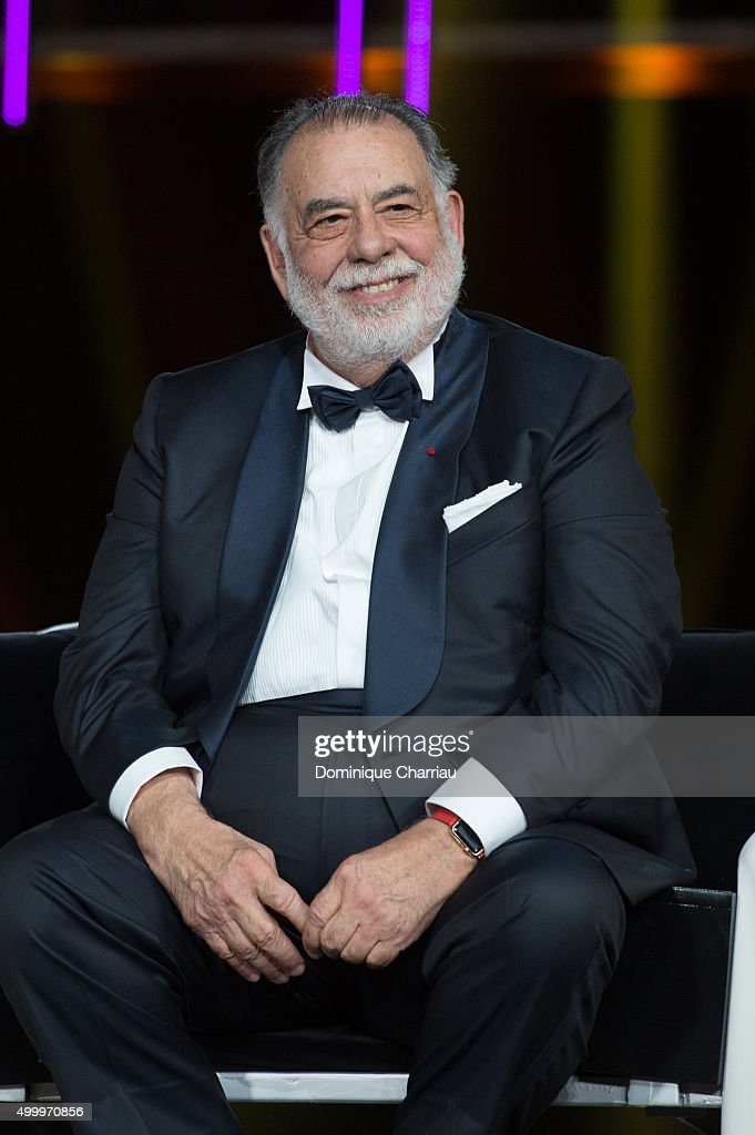 Francis Ford Coppola attends the Tribute To Bill Murray during the 15th Marrakech International Film Festival on December 4 2015 in Marrakech Morocco