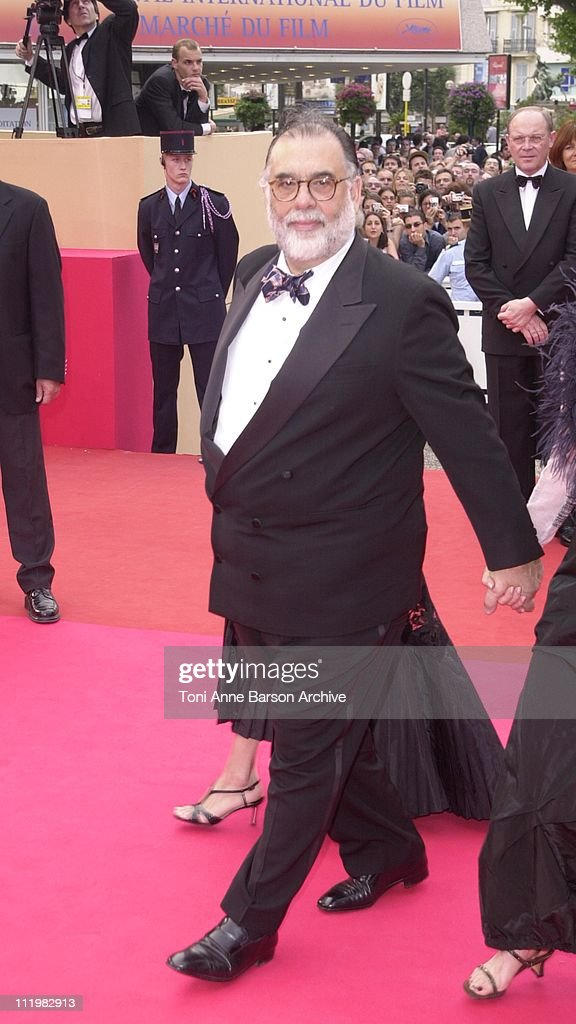 <a gi-track='captionPersonalityLinkClicked' href=/galleries/search?phrase=Francis+Ford+Coppola&family=editorial&specificpeople=204241 ng-click='$event.stopPropagation()'>Francis Ford Coppola</a> during Cannes 2001 - Apocalypse Now Premiere at Palais des Festivals in Cannes, France.