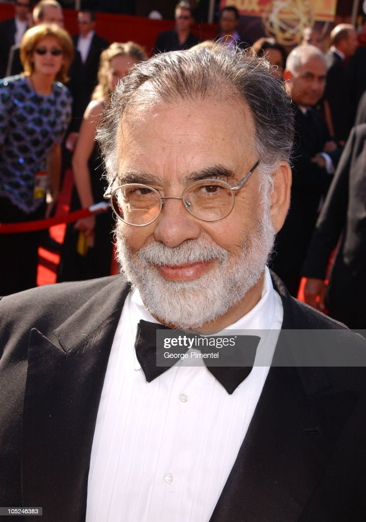 Francis Ford Coppola during The 55th Annual Primetime Emmy Awards - Access Hollywood Red Carpet at The Shrine Theater in Los Angeles, California, United States.