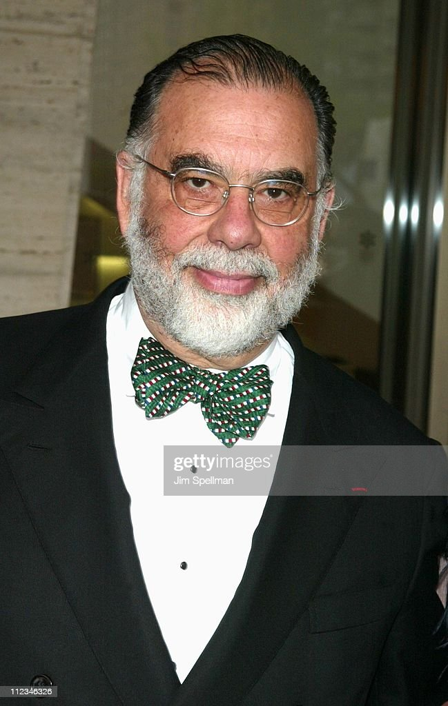 <a gi-track='captionPersonalityLinkClicked' href=/galleries/search?phrase=Francis+Ford+Coppola&family=editorial&specificpeople=204241 ng-click='$event.stopPropagation()'>Francis Ford Coppola</a> during The Film Society of Lincoln Center Gala Tribute To <a gi-track='captionPersonalityLinkClicked' href=/galleries/search?phrase=Francis+Ford+Coppola&family=editorial&specificpeople=204241 ng-click='$event.stopPropagation()'>Francis Ford Coppola</a> at Avery Fisher Hall, Lincoln Center in New York City, New York, United States.