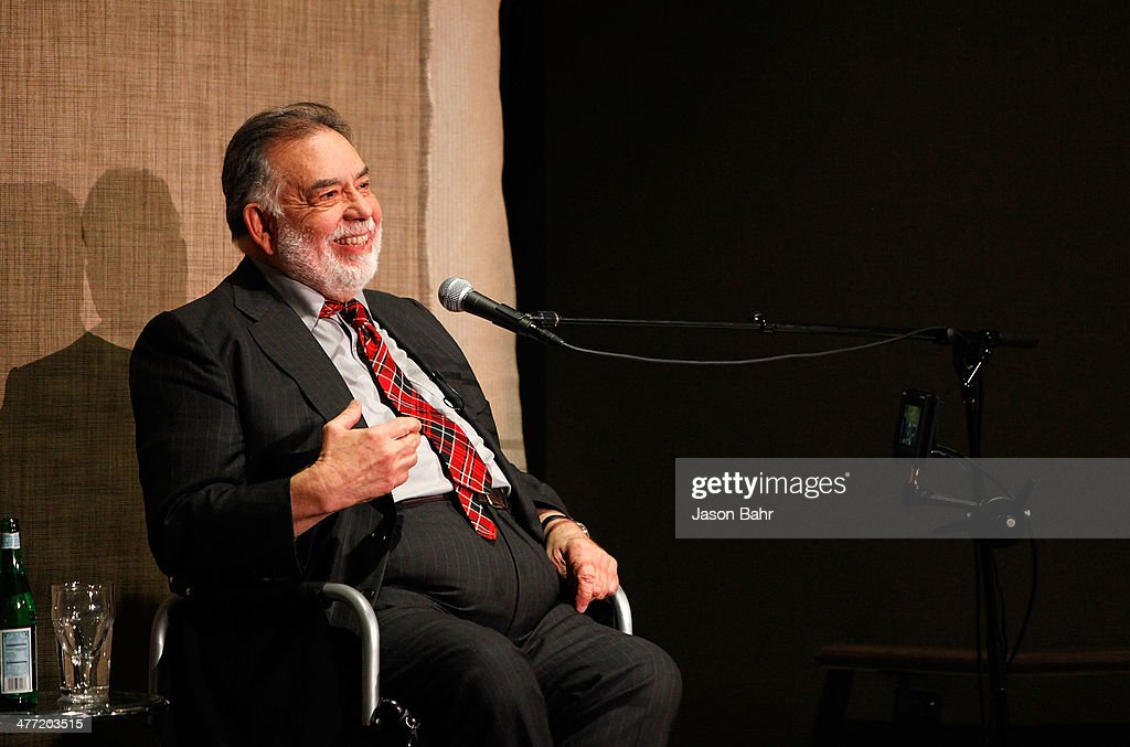 <a gi-track='captionPersonalityLinkClicked' href=/galleries/search?phrase=Francis+Ford+Coppola&family=editorial&specificpeople=204241 ng-click='$event.stopPropagation()'>Francis Ford Coppola</a> speaks at the Denver Film Society SIE Filmcenter on March 7, 2014 in Denver, Colorado.