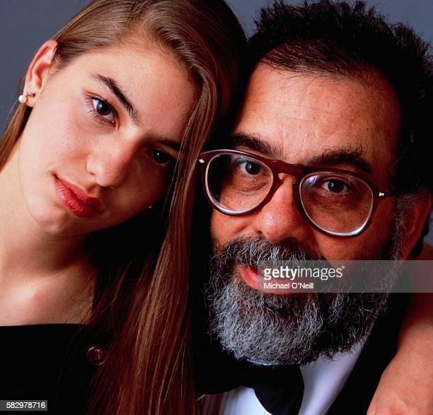 Francis Ford Coppola with Sofia Coppola