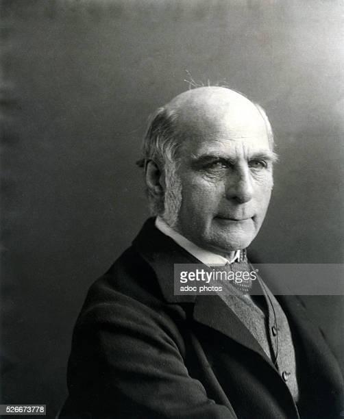 Francis Galton British man of science born in Sparkbrook Ca 1890