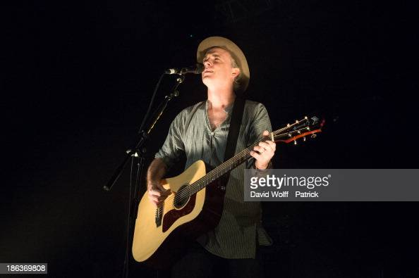 Francis Healy from Travis performs at Le Trianon on October 30 2013 in Paris France