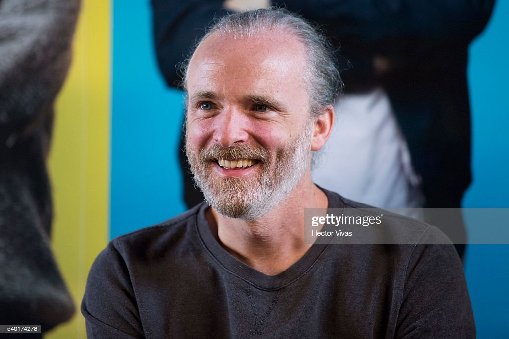 Francis Healy vocalist of the music band Travis attends a press conference at Universal Music on June 14 2016 in Mexico City Mexico