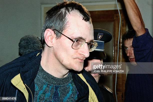 Francis Heaulme alleged murder of Laurence Guillaume a 14yearold girl arrives at the Metz courthouse on October 10 1994 Heaulme was sentenced to life...