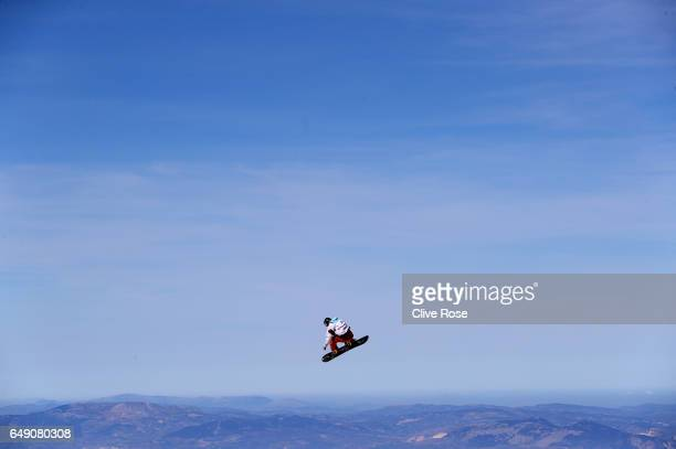 Francis Jobin of Finland trains on Day One of the FIS Freestyle Ski Snowboard World Championships on March 7 2017 in Sierra Nevada Spain