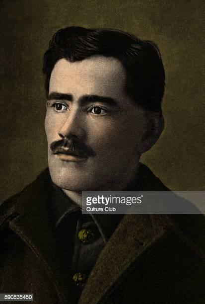 Francis Ledwidge portrait Irish war poet killed in action at the Battle of Passchendaele during World War I 19 August 1887 Ð 31 July 1917