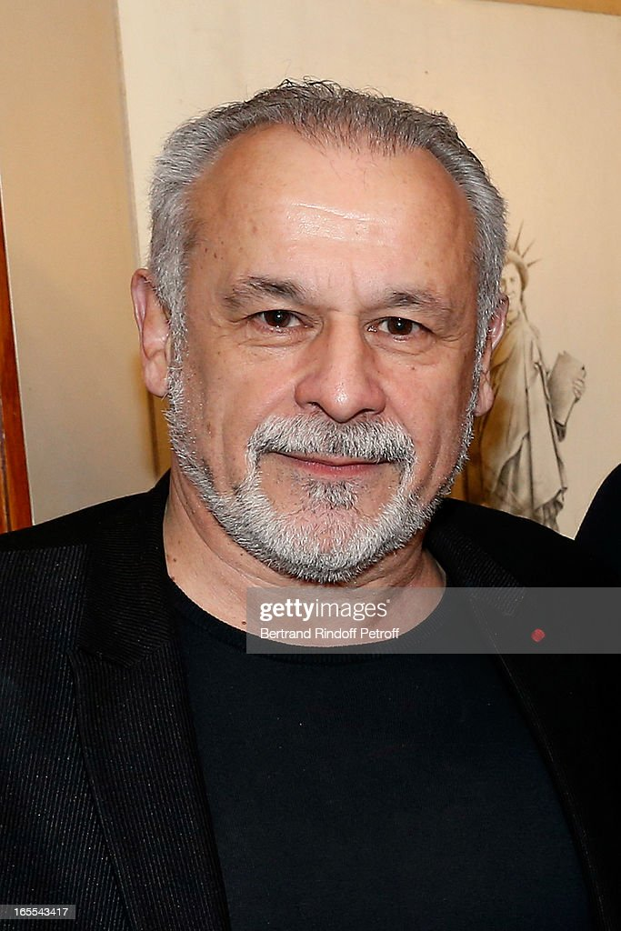 Francis Perrin attends 'Mongeville TV Show : La Nuit Des Loups' Private Screening at Club 13 on April 4, 2013 in Paris, France.