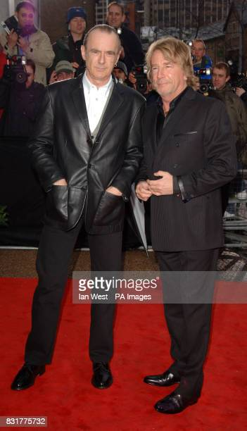 Francis Rossi and Rick Parfitt arrive for An Audience With Coronation Street at London Television Centre Sunday 9 April 2006