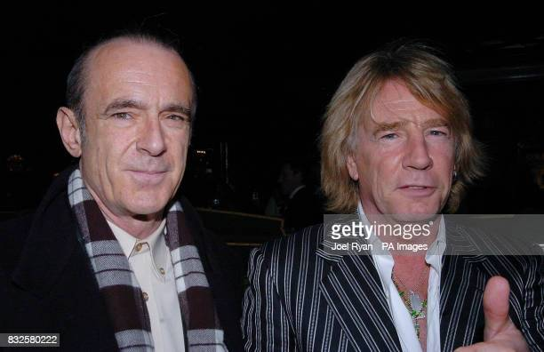 Francis Rossi and Rick Parfitt of Status Quo at Harrods in Knightsbridge central London to sign copies of their new DVD 'Status Quo Just Doin' It...