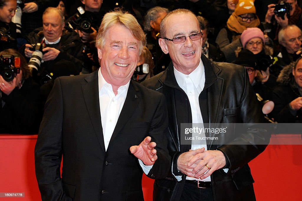 Francis Rossi (R) and Rick Parfitt of Status Quo attend 'Promised Land' Premiere during the 63rd Berlinale International Film Festival at Berlinale Palast on February 8, 2013 in Berlin, Germany.