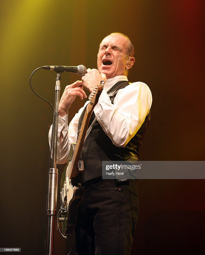 <a gi-track='captionPersonalityLinkClicked' href=/galleries/search?phrase=Francis+Rossi&family=editorial&specificpeople=243185 ng-click='$event.stopPropagation()'>Francis Rossi</a> of Status Quo performs at Quofestive at the BIC on December 9, 2012 in Bournemouth, England.