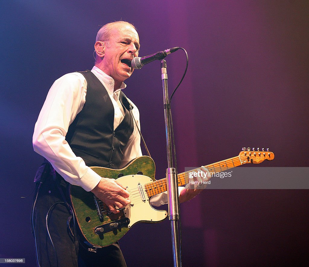 Francis Rossi of Status Quo performs at Quofestive at the BIC on December 9, 2012 in Bournemouth, England.