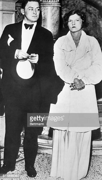 Francis Scott Fitzgerald American writer with his wife Zelda