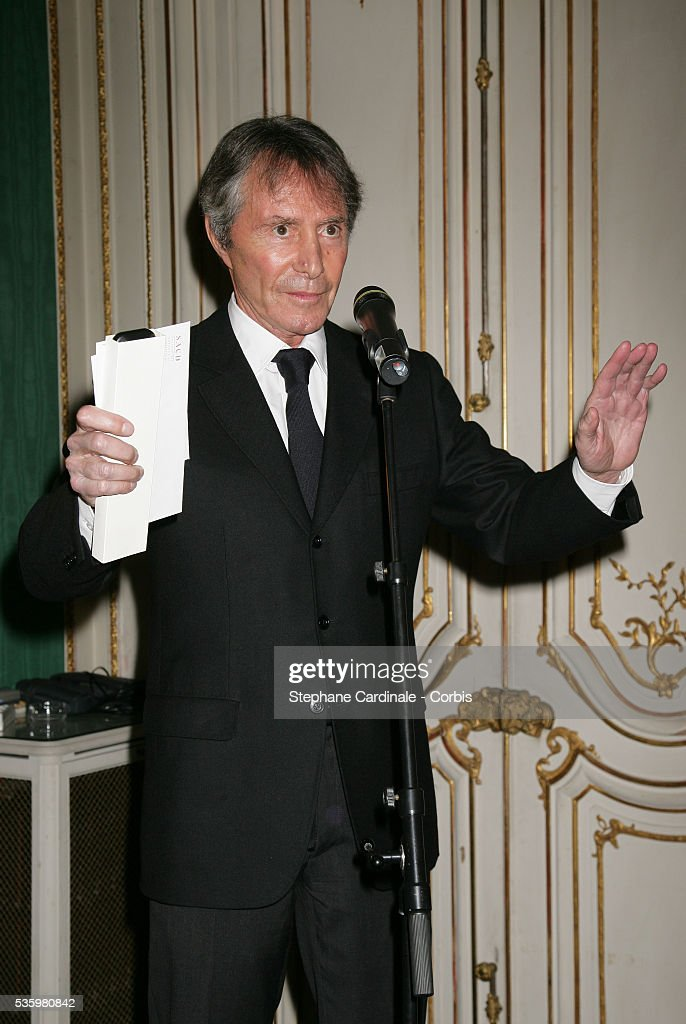 Francis Veber at the 'Henri Jeanson' prize ceremony.