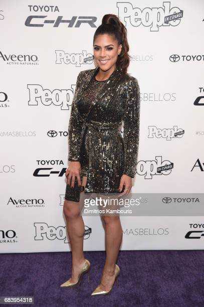 Francisca Lachapel arrives at People en Espanol's 50 Most Beautiful Gala 2017 at Espace on May 16 2017 in New York City