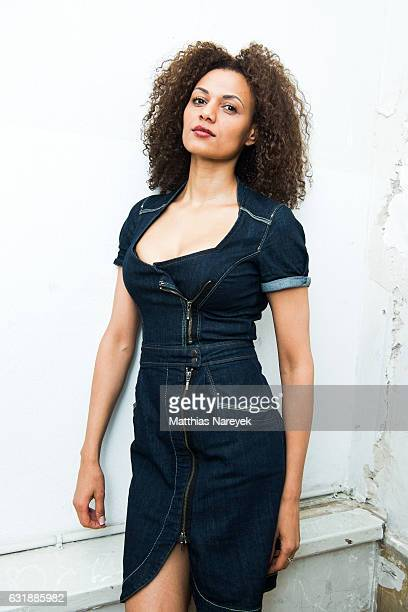 Francisca Urio attends the holyGhost show during the MercedesBenz Fashion Week Berlin A/W 2017 at Kaufhaus Jandorf on January 17 2017 in Berlin...