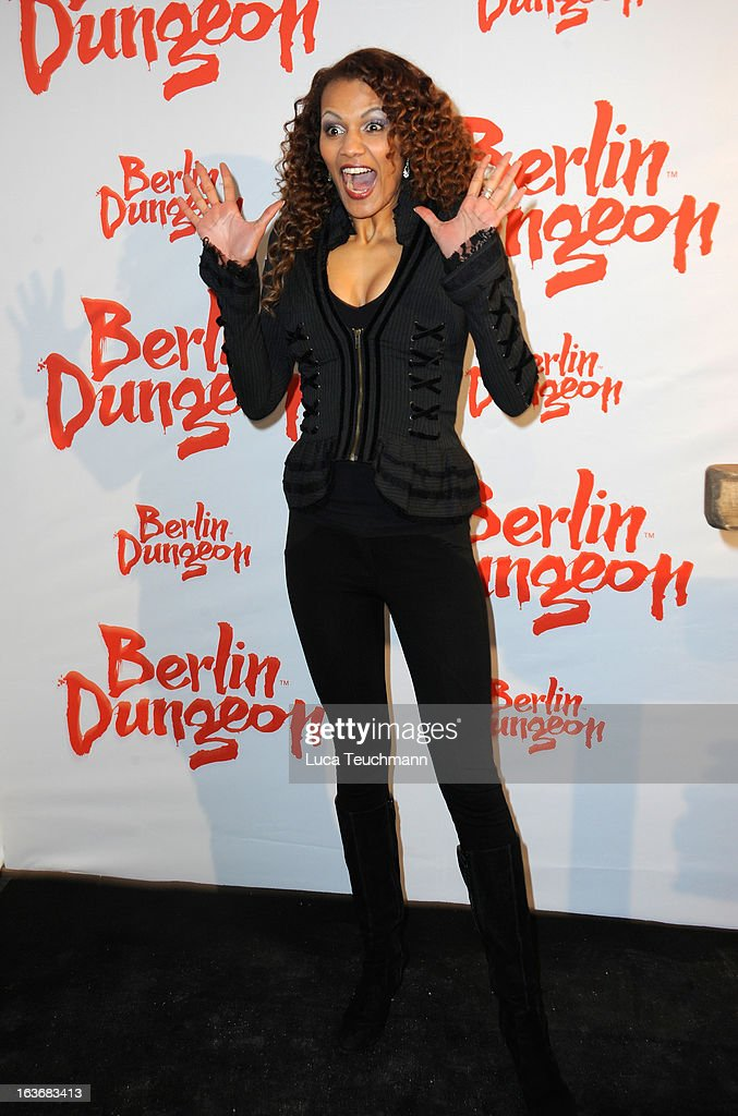 Francisca Urio attends the opening of the Berlin Dungeon near Hackescher Markt in Berlin on March 14, 2013 in Berlin, Germany.