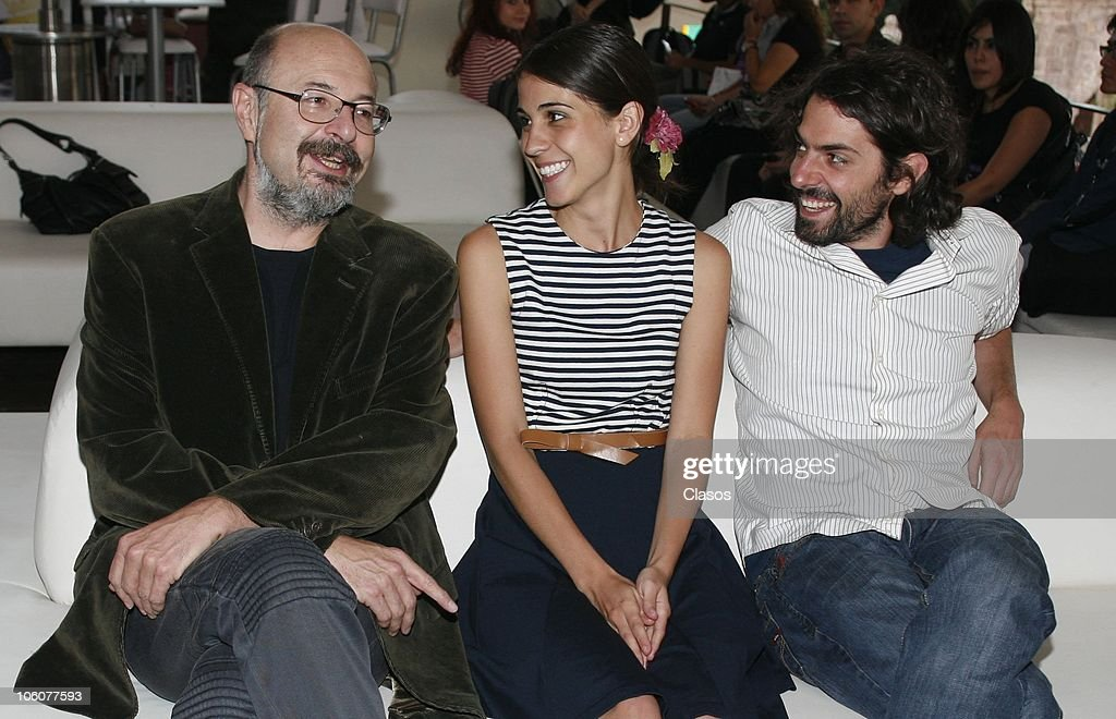 Francisco Athie, Cassandra Ciangherotti and Jose Maria de Tavira during the 8th Morelia International Film Festival on October 23, 2010 in Morelia, Mexico.