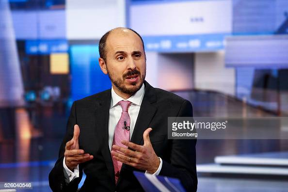 Francisco Blanch head of global commodities research at Merrill Lynch speaks during a Bloomberg Television interview in New York US on Friday April...