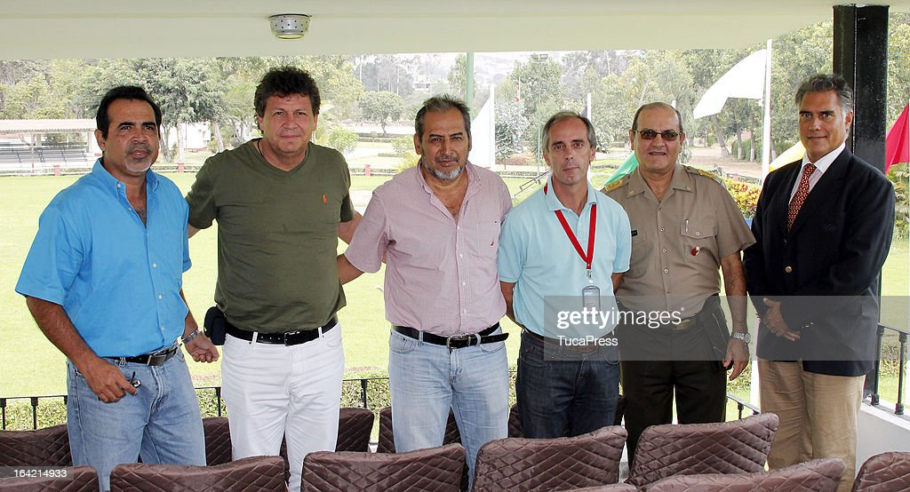 Francisco Boza during the farewell Lunch and Paso Horse Show as part of the Sports Minister of America and Iberoamerican Meeting Organized by CID on March 20, 2013 in Lima Peru.