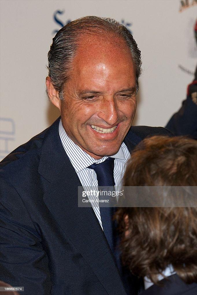 Francisco Camps attends 'La Razon' Newspaper 15th Anniversary on November 4, 2013 in Madrid, Spain.