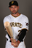 Francisco Cervelli of the Pittsburgh Pirates poses for a portrait on photo day on February 26 2015 at Pirate City in Bradenton Florida