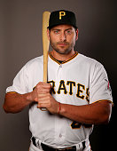 Francisco Cervelli of the Pittsburgh Pirates poses for a portrait on February 25 2016 at Pirate City in Bradenton Florida