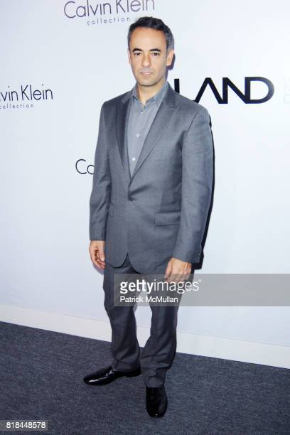 Francisco Costa attends CALVIN KLEIN COLLECTION LOS ANGELES NOMADIC DIVISION CELEBRATE LA ARTS MONTH ART LOS ANGELES CONTEMPORARY at Los Angeles on...