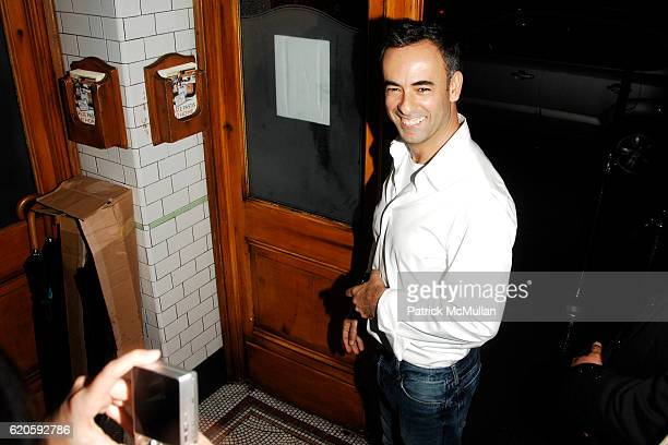 Francisco Costa attends Private Dinner hosted by CARLOS JEREISSATI CEO of IGUATEMI at Pastis on September 6 2008 in New York City