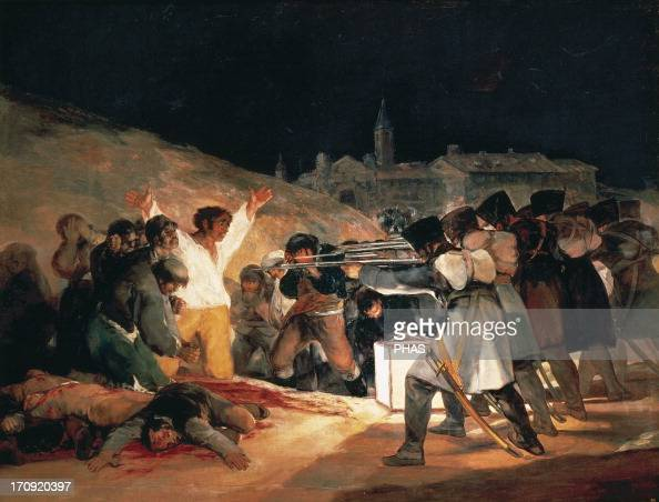 francisco goyas third of may essay The nineteenth century goya paints third of may 1808 march third of may 1808 the nineteenth century francisco de goya's third of may 1808.