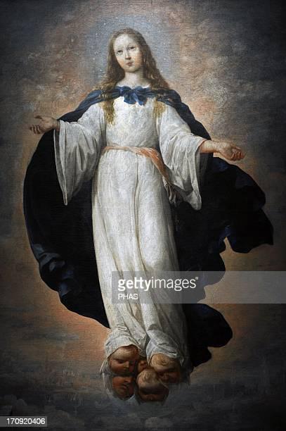 Francisco de Zurbaran Spanish painter The Virgin Immaculate 1661 Museum of Fine Arts Budapest Hungary