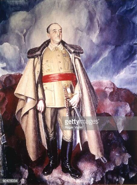 Francisco Franco Bahamonde Spanish General and statesman Madrid Institute of Spain