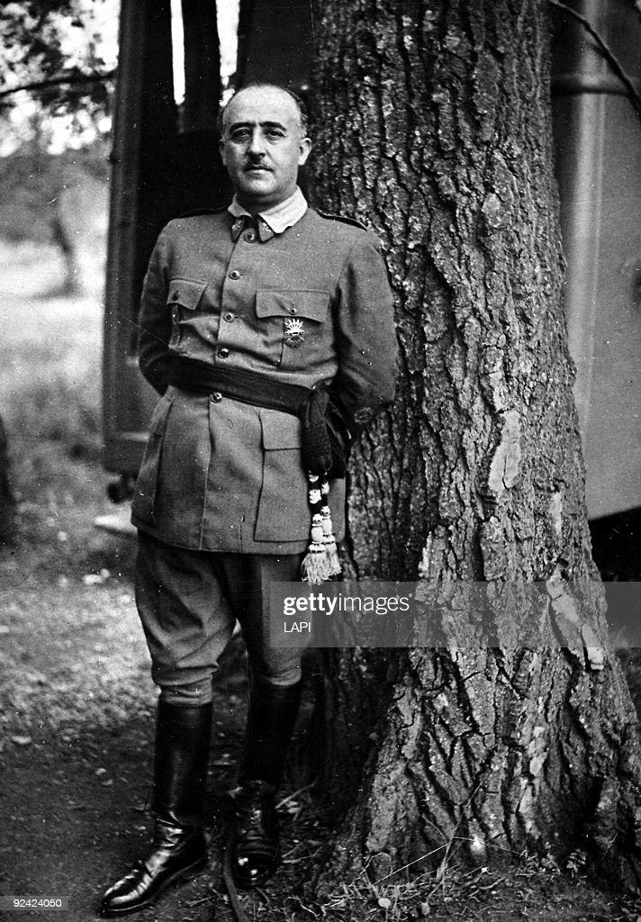 Francisco Franco Bahamonde (1892-1975), Spanish General and statesman.