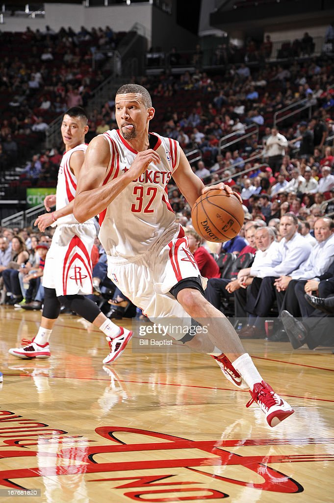 <a gi-track='captionPersonalityLinkClicked' href=/galleries/search?phrase=Francisco+Garcia&family=editorial&specificpeople=198958 ng-click='$event.stopPropagation()'>Francisco Garcia</a> #32 of the Houston Rockets drives to the basket against the Orlando Magic on April 1, 2013 at the Toyota Center in Houston, Texas.