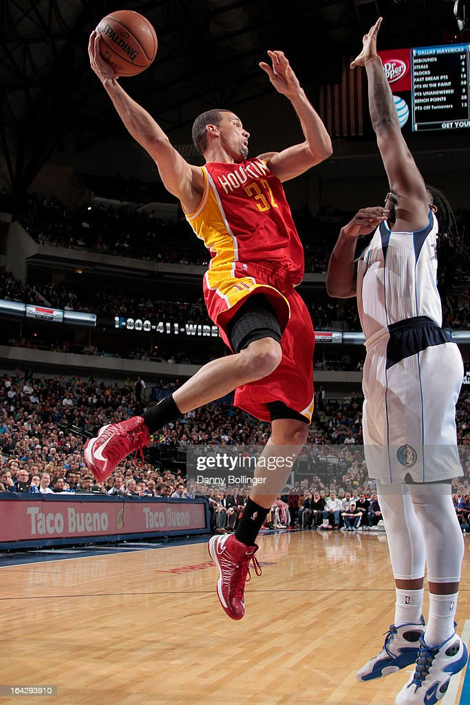 <a gi-track='captionPersonalityLinkClicked' href=/galleries/search?phrase=Francisco+Garcia&family=editorial&specificpeople=198958 ng-click='$event.stopPropagation()'>Francisco Garcia</a> #32 of the Houston Rockets passes the ball against the Dallas Mavericks on March 6, 2013 at the American Airlines Center in Dallas, Texas.