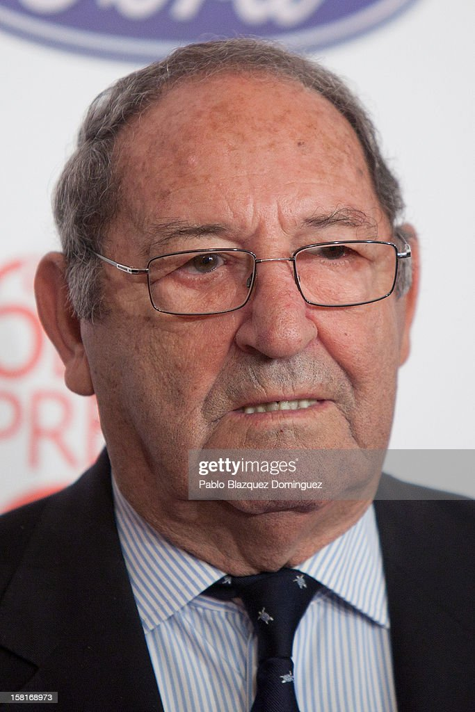 Francisco Gento attends 'As Del Deporte' Awards 2012 at The Westin Palace Hotel on December 10, 2012 in Madrid, Spain.